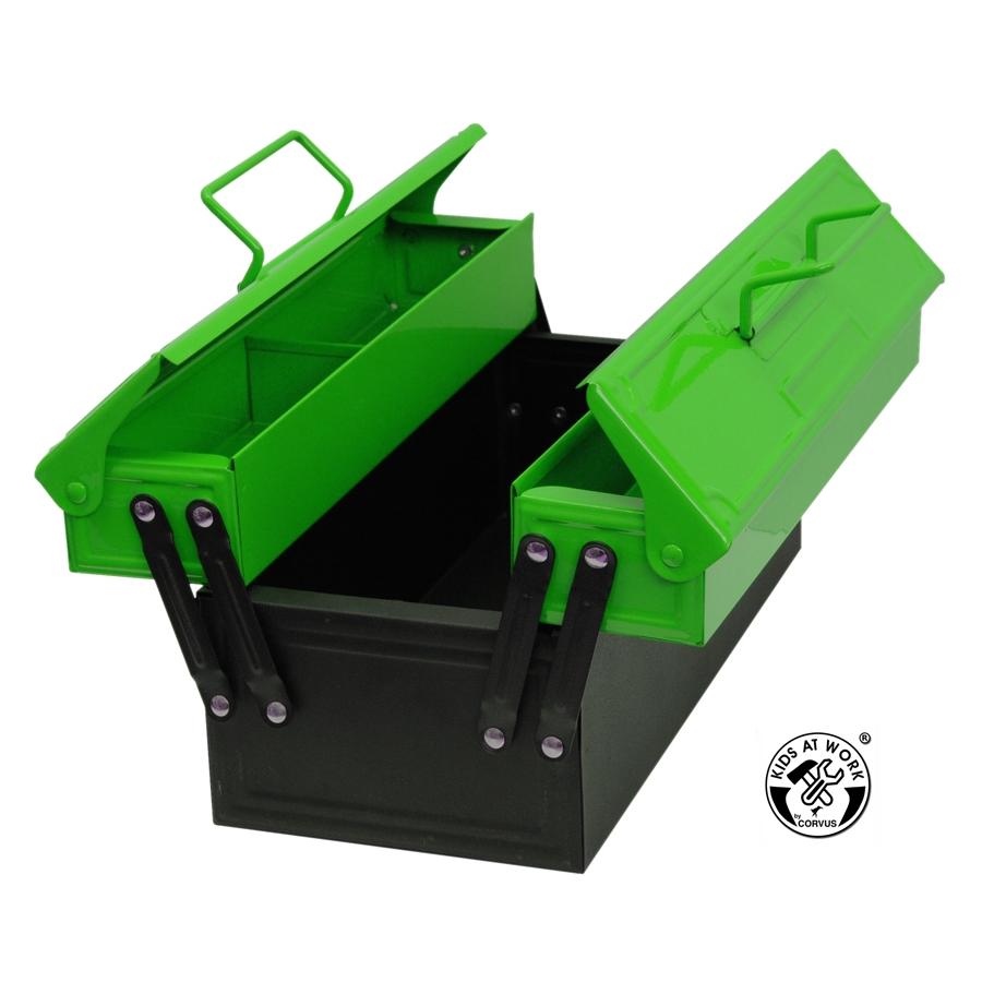 Szerszám tárolódoboz, zöld - 0