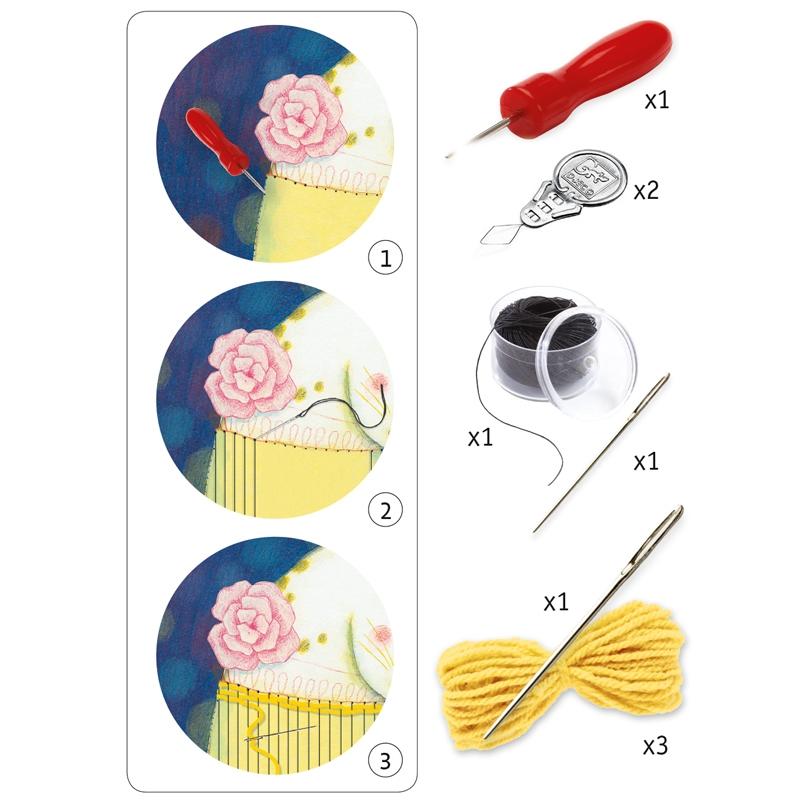 Varrás és hímzés - Gyapjúszövő - Woolly jumper - 1